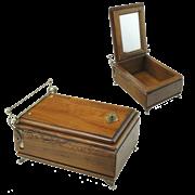 Шкатулка с зеркалом деревянная FC-3513