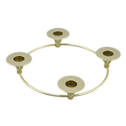 Подсвечник кольцевой на 4 свечки AL-80-399