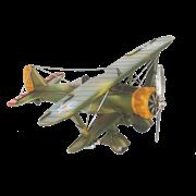 Модель самолета И-15 RD-0910-E-1508
