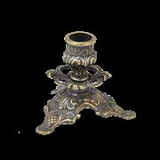 Подсвечник Трилистник малый антик AL-80-322-ANT
