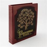 Родословная книга в кожаном переплете Изысканная PM-004-ПЗ