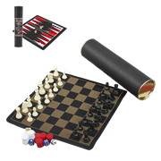 Набор из 3-х игр шахматы, шашки, нарды FG-111718