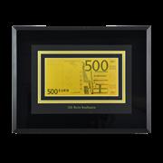 Картина с банкнотой 500 Euro HB-045-TG