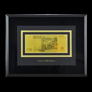 Картина с банкнотой 5000 руб. HB-145-TG