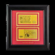 Картина с банкнотой 100 руб. HB-793