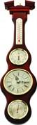 Настенный барометр гигрометр термометр часы М-59