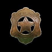 Значок шефа полиции DE-110