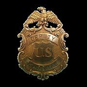 Бэйдж маршала США DE-112-L