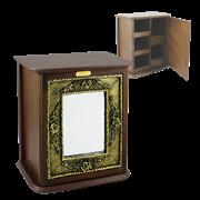 Шкафчик Флер Де Роз для мелочей настенный HL-B-998-A