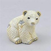 Статуэтка керамическая Медвежонок полярный DR-F-363