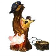 Светильник садовый Птицы у цветка CA-63440