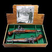 Пистоли дуэльные 18 века DE-1102-2-G