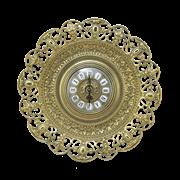 Часы-блюдо в рамке Барокко AL-82-104