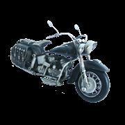 Модель мотоцикла Harley Davidson черный RD-1204-A-4646