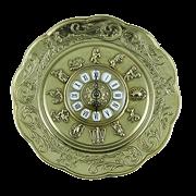 Часы- блюдо металлические AL-82-105
