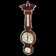 Часы с барометром и термометром настенные М-94-Ч
