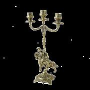 Канделябр Кавалло 3-х рожковый, золото BP-14039
