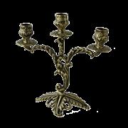 Канделябр Флор 3-х рожковый, антик BP-14041-A