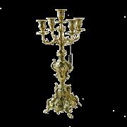 Канделябр Принципал 5-ти рожковый, золото BP-14035-D