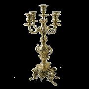 Канделябр Каранка 5-ти рожковый, золото BP-14064-D