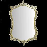 Зеркало Бикош в раме, золото BP-50103