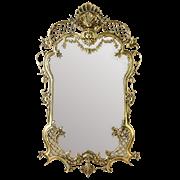 Зеркало Рендада в раме, золото BP-50112