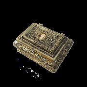 Шкатулка, золото BP-00139