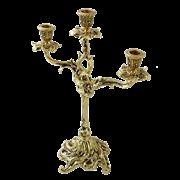 Канделябр Трес Велло 3-х рожковый, золото BP-00619