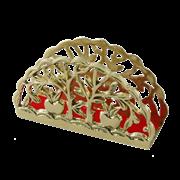 Салфетница Фрукты, золото BP-01202