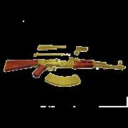 Комплект сборный модели автомата Советской Армии,  1947г., наградная версия DE-1086-L