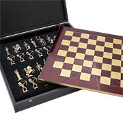 Шахматы сувенирные  Античные войны MP-S-15-28-RED