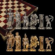 Шахматы из металла  Античные войны MP-S-10-44-RED