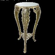 Столик для телефона с зеркальной столешницей, золото BP-22110-D