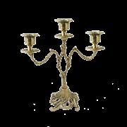 Канделябр на 3 свечи из бронзы Асти BP-14038-D