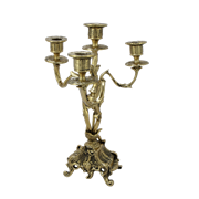 Канделябр Дон Хуан, 4-х рожковый, золото BP-14090-D