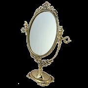 Зеркало  Будуар настольное, золото BP-21005-D