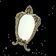 Зеркало Прима настольное, золото BP-21004-D