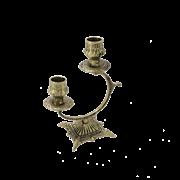 Канделябр Синкопа 2-х рожковый, золото BP-14092-D