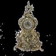 Часы Долфин каминные, золото BP-27089-D