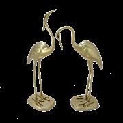 Статуэтка Журавли пара, золото BP-12015-D