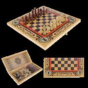 Набор игр шахматы нарды, шашки с доской Статус SA-SH-011