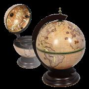 Глобус-бар настольный светлый D=33 см JF-RG-33002-N