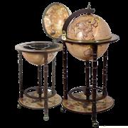 Глобус-бар напольный d 33 см светлый JF-RG-33001-N