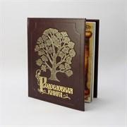 Альбом Родословная Книга  Изысканная   обложка из экокожи с золочением PM-004-ЭК