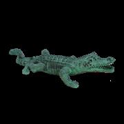 Фигурка декоративная Крокодил GI-1128
