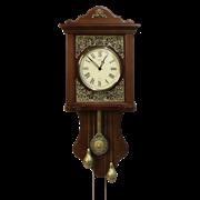 Часы Паризьен настенные с маятником и гирями HL-C-3009-A-1