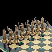 Шахматы подарочные  Троянская война MP-S-4-C-36-GRE