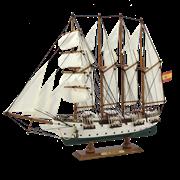 Модель парусника  J.S.Elcano MM-HQ-8655-С