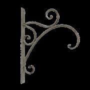 Крючок настенный, декоративный,  белая патина FY-160116-MD