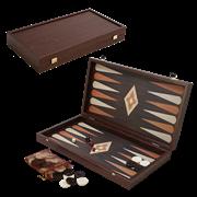 Нарды в деревянном кейсе, цвет венге MP-TXL-1-VV
